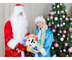 Дед Мороз и Снегурочка на дом. Новогодние утренники.