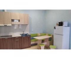 Студия с отделкой и мебелью