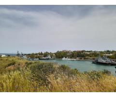 Участок на берегу в Карантинной бухте