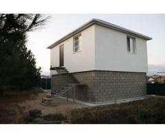 Два дома с видом на море на участке 8 соток на Фиоленте