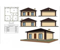 Дом новый, одноэтажный на Фиоленте