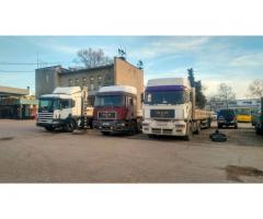 Грузоперевозки 20 тонн Крым Севастополь